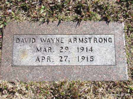 ARMSTRONG, DAVID WAYNE - White County, Arkansas   DAVID WAYNE ARMSTRONG - Arkansas Gravestone Photos
