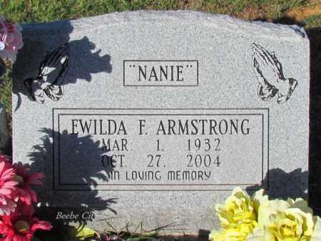 "ARMSTRONG, EWILDA F ""NANIE"" - White County, Arkansas | EWILDA F ""NANIE"" ARMSTRONG - Arkansas Gravestone Photos"