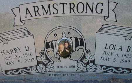 ARMSTRONG, HARRY D (CLOSE UP) - White County, Arkansas | HARRY D (CLOSE UP) ARMSTRONG - Arkansas Gravestone Photos