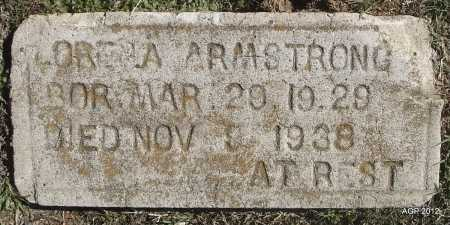 ARMSTRONG, LORENA - White County, Arkansas | LORENA ARMSTRONG - Arkansas Gravestone Photos