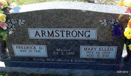 ARMSTRONG, MARY ELLEN - White County, Arkansas   MARY ELLEN ARMSTRONG - Arkansas Gravestone Photos
