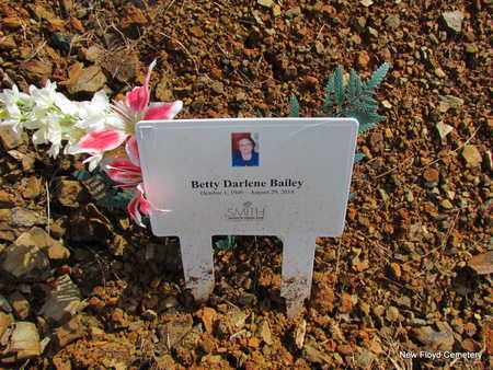 SMITH BAILEY, BETTY DARLENE - White County, Arkansas | BETTY DARLENE SMITH BAILEY - Arkansas Gravestone Photos