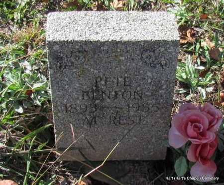 "BENTON, ""PETE"" JOHN FRANKLIN - White County, Arkansas   ""PETE"" JOHN FRANKLIN BENTON - Arkansas Gravestone Photos"
