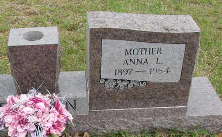 BENTON, ANNA L - White County, Arkansas | ANNA L BENTON - Arkansas Gravestone Photos