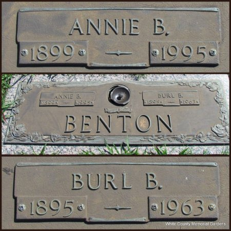 BENTON, ANNIE - White County, Arkansas | ANNIE BENTON - Arkansas Gravestone Photos