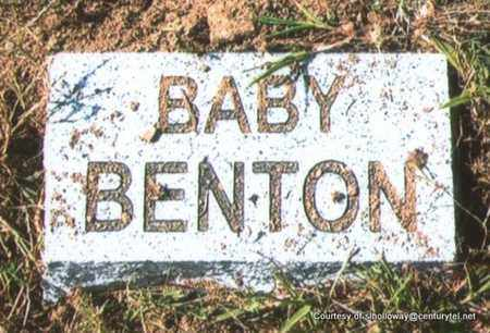 BENTON, BABY (2 OF 3) - White County, Arkansas | BABY (2 OF 3) BENTON - Arkansas Gravestone Photos