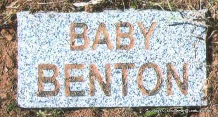 BENTON, BABY (1 OF 3) - White County, Arkansas | BABY (1 OF 3) BENTON - Arkansas Gravestone Photos