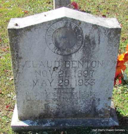 BENTON, CLAUD - White County, Arkansas | CLAUD BENTON - Arkansas Gravestone Photos