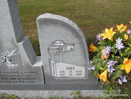 BENTON, FAYE (CLOSE UP) - White County, Arkansas   FAYE (CLOSE UP) BENTON - Arkansas Gravestone Photos