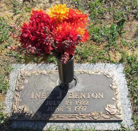 BENTON, INEZ J - White County, Arkansas | INEZ J BENTON - Arkansas Gravestone Photos