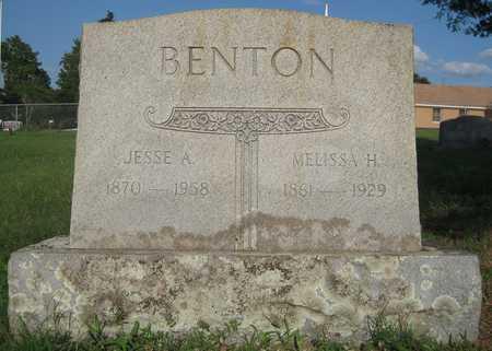 BENTON, MELISSA H - White County, Arkansas | MELISSA H BENTON - Arkansas Gravestone Photos