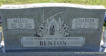 BENTON, CHARLEY - White County, Arkansas | CHARLEY BENTON - Arkansas Gravestone Photos