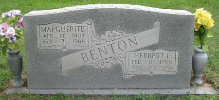 BENTON, HERBERT L - White County, Arkansas | HERBERT L BENTON - Arkansas Gravestone Photos