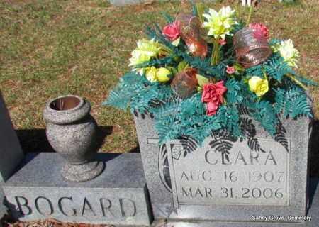 BOGARD, CLARA (CLOSE UP) - White County, Arkansas   CLARA (CLOSE UP) BOGARD - Arkansas Gravestone Photos