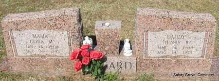 BOGARD, CORA M - White County, Arkansas | CORA M BOGARD - Arkansas Gravestone Photos