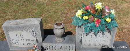 BOGARD, CLARA - White County, Arkansas | CLARA BOGARD - Arkansas Gravestone Photos