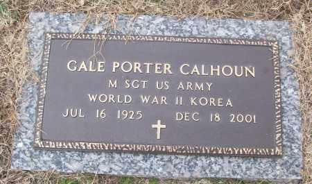 CALHOUN (VETERAN 2 WARS), GALE PORTER - White County, Arkansas | GALE PORTER CALHOUN (VETERAN 2 WARS) - Arkansas Gravestone Photos