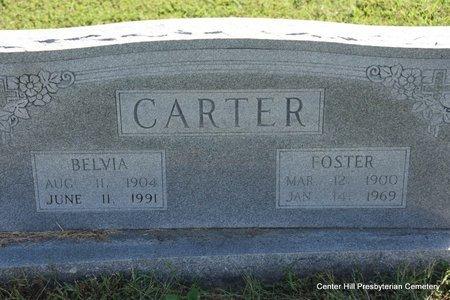 CARTER, FOSTER - White County, Arkansas | FOSTER CARTER - Arkansas Gravestone Photos
