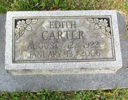 CARTER, EDITH - White County, Arkansas | EDITH CARTER - Arkansas Gravestone Photos