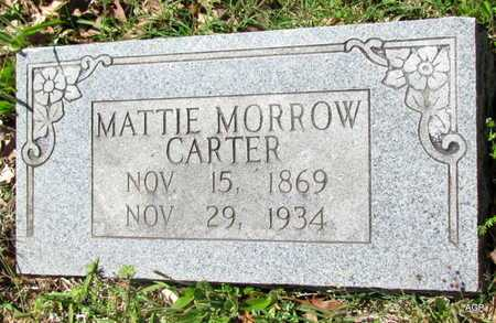 CARTER, MATTIE - White County, Arkansas   MATTIE CARTER - Arkansas Gravestone Photos