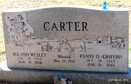 CARTER, PANSY O - White County, Arkansas | PANSY O CARTER - Arkansas Gravestone Photos