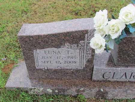 CLARK, EUNA T (CLOSE UP) - White County, Arkansas | EUNA T (CLOSE UP) CLARK - Arkansas Gravestone Photos