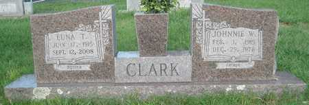 CLARK, JOHNNIE W - White County, Arkansas | JOHNNIE W CLARK - Arkansas Gravestone Photos