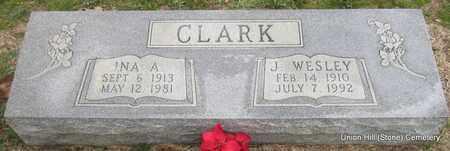CLARK, J WESLEY - White County, Arkansas   J WESLEY CLARK - Arkansas Gravestone Photos