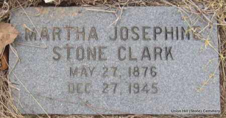 CLARK, MARTHA JOSEPHINE - White County, Arkansas | MARTHA JOSEPHINE CLARK - Arkansas Gravestone Photos