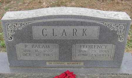 CLARK, R BALAM - White County, Arkansas | R BALAM CLARK - Arkansas Gravestone Photos