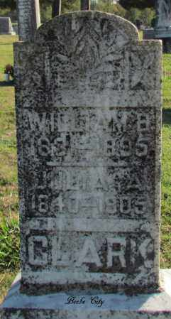 CLARK, WILLIAM B - White County, Arkansas | WILLIAM B CLARK - Arkansas Gravestone Photos