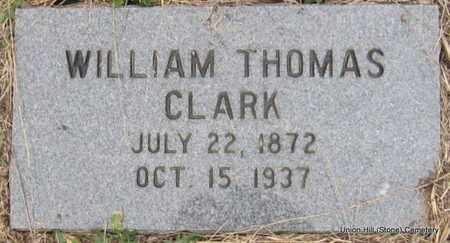 CLARK, WILLIAM THOMAS - White County, Arkansas   WILLIAM THOMAS CLARK - Arkansas Gravestone Photos