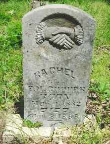 COOPER, RACHEL - White County, Arkansas | RACHEL COOPER - Arkansas Gravestone Photos