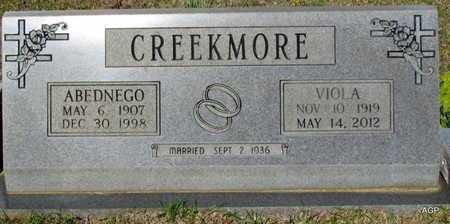 CREEKMORE, VIOLA - White County, Arkansas | VIOLA CREEKMORE - Arkansas Gravestone Photos