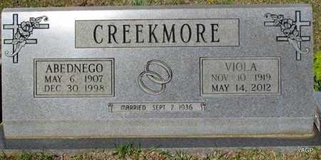CREEKMORE, ABEDNEGO - White County, Arkansas | ABEDNEGO CREEKMORE - Arkansas Gravestone Photos