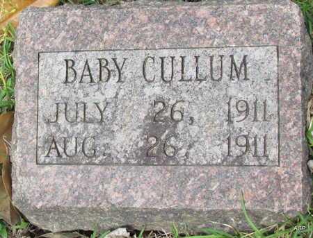 CULLUM, BABY - White County, Arkansas | BABY CULLUM - Arkansas Gravestone Photos