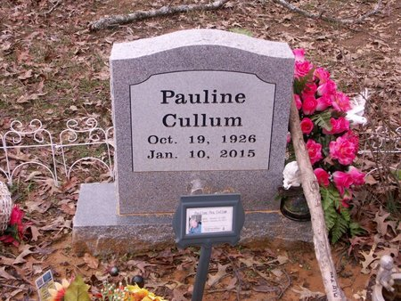 CULLUM, PAULINE - White County, Arkansas | PAULINE CULLUM - Arkansas Gravestone Photos