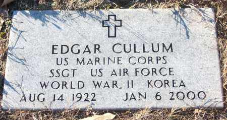 CULLUM (VETERAN 2 WARS), EDGAR - White County, Arkansas | EDGAR CULLUM (VETERAN 2 WARS) - Arkansas Gravestone Photos
