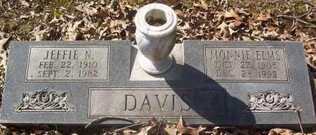 DAVIS, MONNIE - White County, Arkansas | MONNIE DAVIS - Arkansas Gravestone Photos