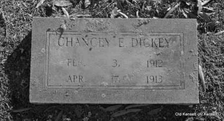 DICKEY, CHANCEY E - White County, Arkansas   CHANCEY E DICKEY - Arkansas Gravestone Photos