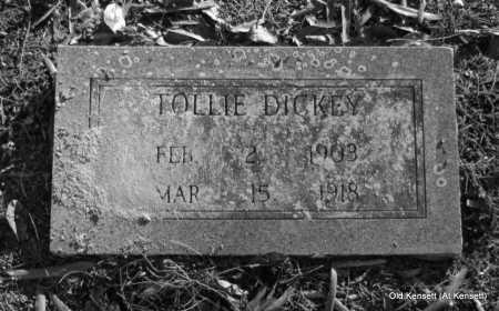 DICKEY, TOLLIE - White County, Arkansas | TOLLIE DICKEY - Arkansas Gravestone Photos
