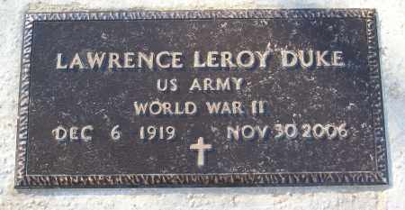 DUKE (VETERAN WWII), LAWRENCE LEROY - White County, Arkansas | LAWRENCE LEROY DUKE (VETERAN WWII) - Arkansas Gravestone Photos
