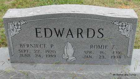 EDWARDS, ROMIE E - White County, Arkansas | ROMIE E EDWARDS - Arkansas Gravestone Photos