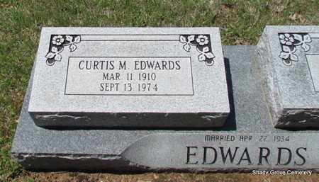 EDWARDS, CURTIS M (CLOSE UP) - White County, Arkansas | CURTIS M (CLOSE UP) EDWARDS - Arkansas Gravestone Photos