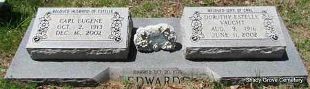 EDWARDS, CARL EUGENE - White County, Arkansas | CARL EUGENE EDWARDS - Arkansas Gravestone Photos