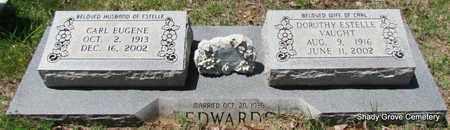 EDWARDS, CARL EUGENE - White County, Arkansas | CARL EUGENE EDWARDS - Arkansas Gravestone Photos