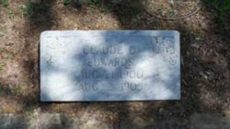 EDWARDS, CLAUDE O - White County, Arkansas   CLAUDE O EDWARDS - Arkansas Gravestone Photos