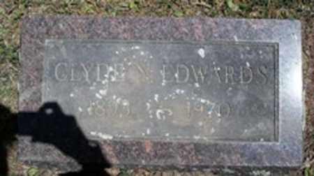 EDWARDS, CLYDE N - White County, Arkansas   CLYDE N EDWARDS - Arkansas Gravestone Photos