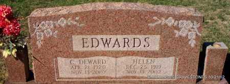 EDWARDS, C DEWARD - White County, Arkansas | C DEWARD EDWARDS - Arkansas Gravestone Photos