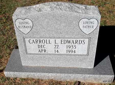 EDWARDS, CARROLL L - White County, Arkansas | CARROLL L EDWARDS - Arkansas Gravestone Photos